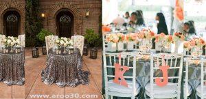 میز شام عروسی