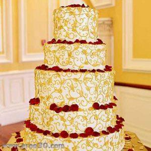 سفارش کیک عروسی