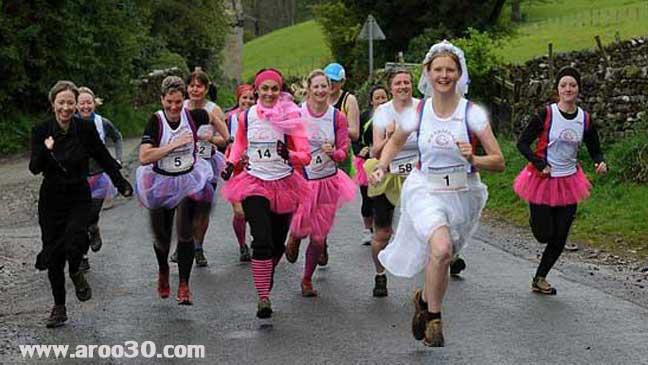 مسابقه دو در جشن عروسی