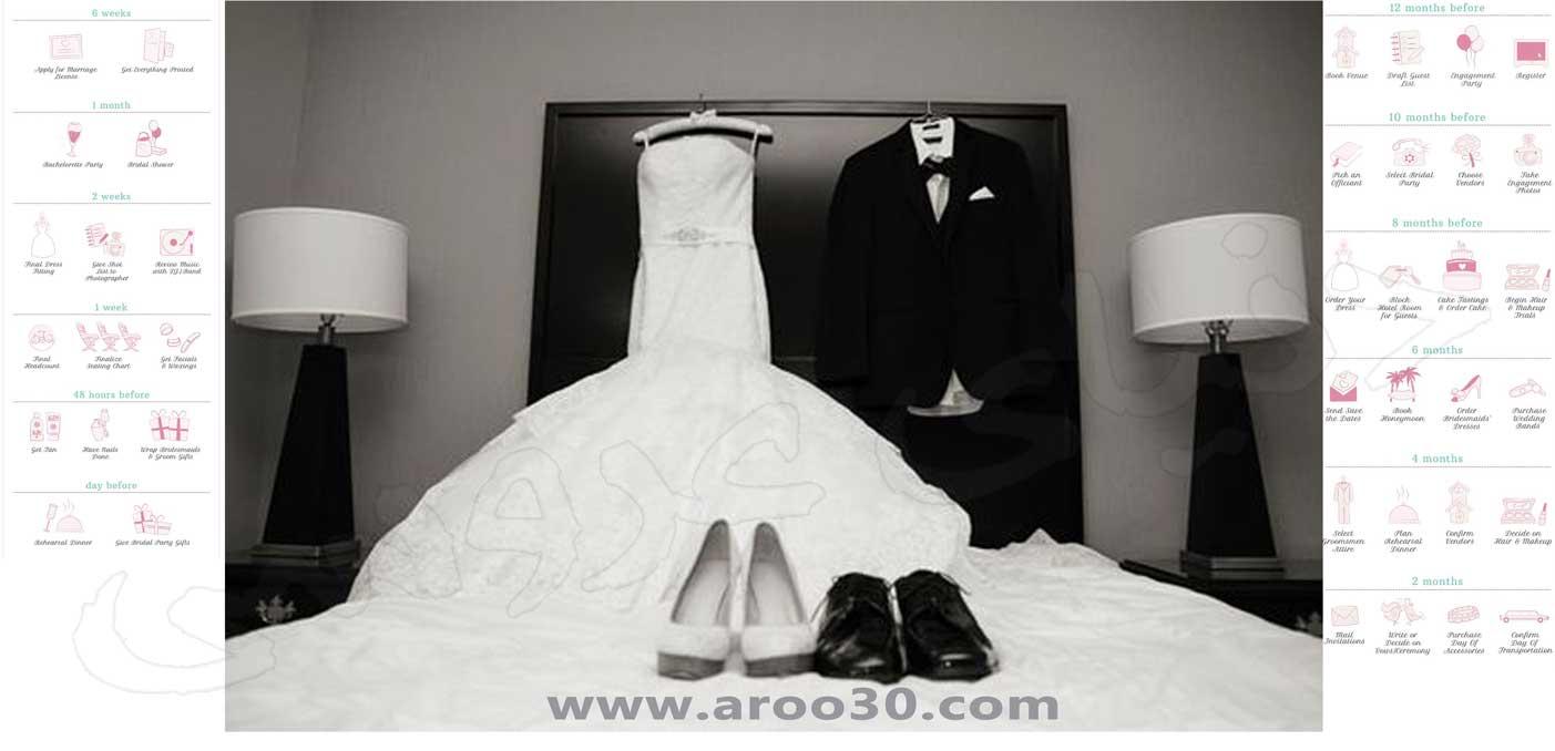 آمادگی های جشن عروسی