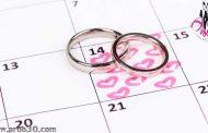 تعیین تاریخ عروسی