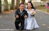 ازدواج و ماه عسل کوتاه ترین زوج جهان