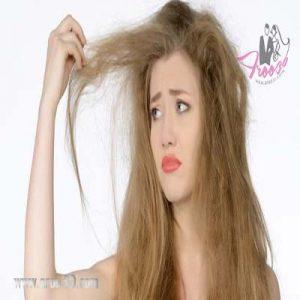 موی خشک