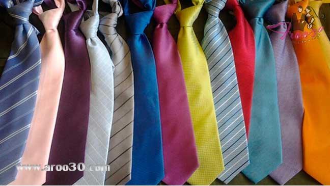 آموزش تصویری بستن کراوات