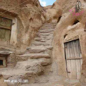 کندوان یکی از سه روستای صخره ای جهان