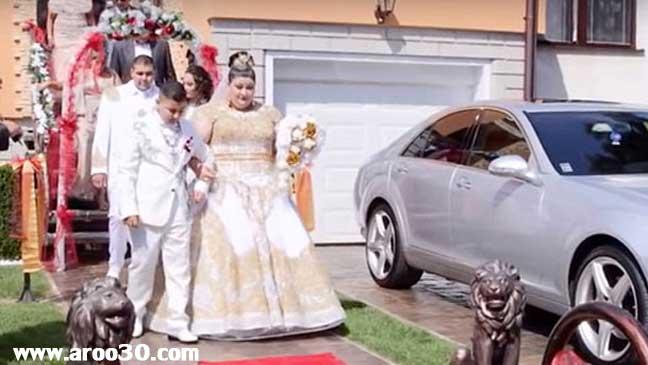 گران قیمت ترین عروسی اروپا