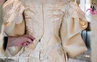 عروسی با لباس عروس 120 ساله