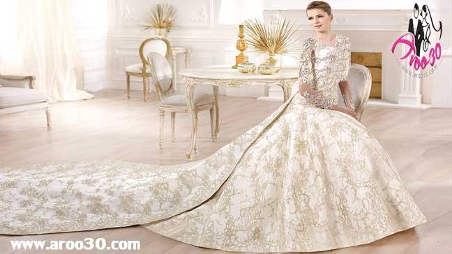 عجیب ترین مدل های لباس عروس جهان