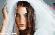 آرایش برنزه عروس در عروسی