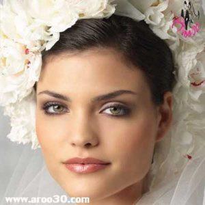 آرایش برنزه عروس
