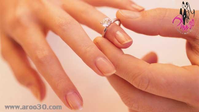 انتخاب انگشتر نشان عروس