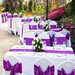 رنگ ها در عروسی