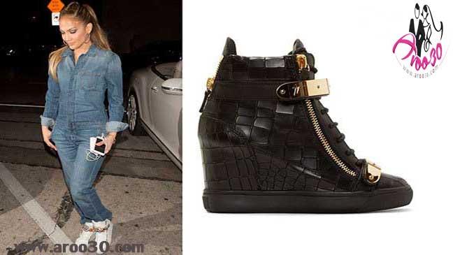 مجموعه جدیدترین کفش های جنیفر لوپز