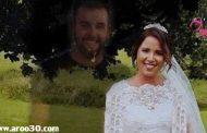 عکس یادگاری عروس با برادر مرده اش