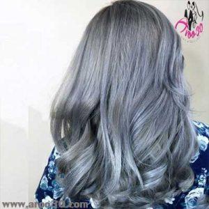 رنگ موی زمستان
