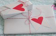 ایده هایی برای تزئین هدیه ولنتاین