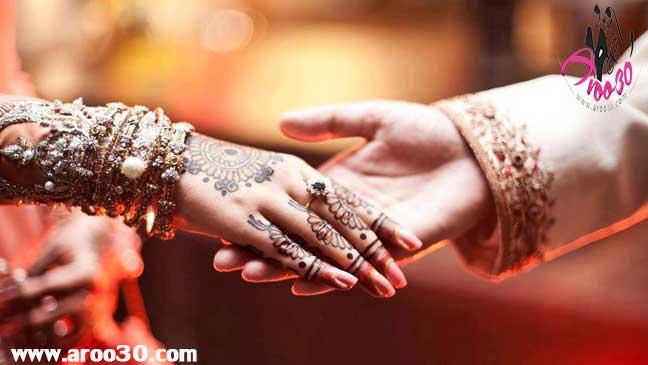 رسم جالب هندی ها برای ازدواج
