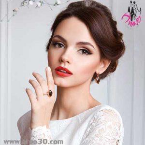 انتخاب مدل مو با توجه به لباس عروس