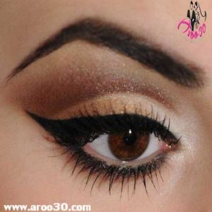 آرایش چشم برای پوست چرب