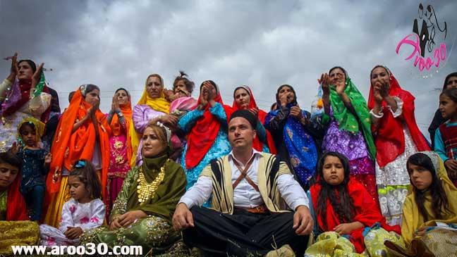 آداب و رسوم عروسی در استان های ایران