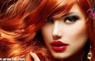 تکنیک های آرایشی موی قرمز