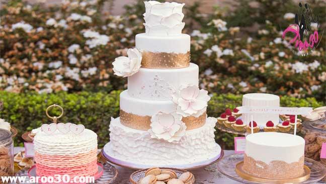 طرح های خلاقانه و مدرن کیک های عروسی