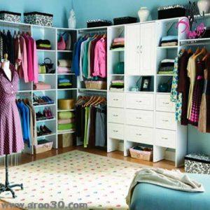 تغییر رنگ لباس ها