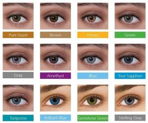 رنگ لنز