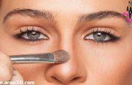 کانتور یا آرایش کردن انواع بینی