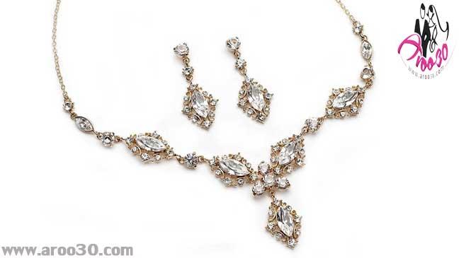 جواهرات عروس مناسب با رنگ پوست و مو