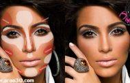 کانتور کردن صورت