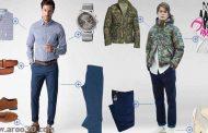 ست های لباس مردانه پاییزی