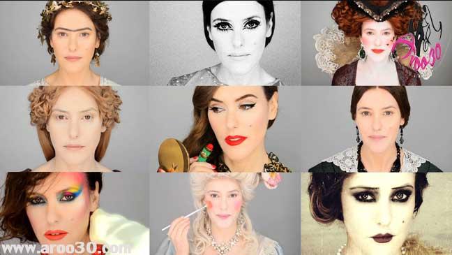 زیبایی و جذابیت زنان در طول تاریخ