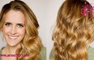 موج دار کردن موها با بافتن