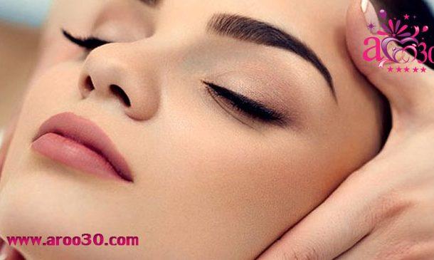 جوانسازی پوست با ماساژ دادن صورت و چشم