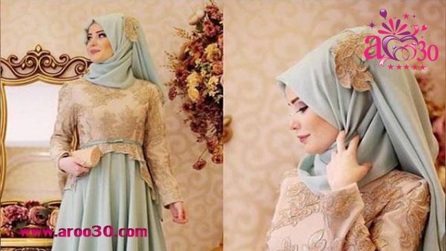 نمونه ای از لباس مجلسی پوشیده برای نامزدی و عروسی