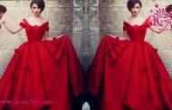 مدل لباس نامزدی رنگ قرمز
