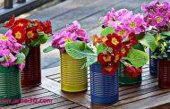ساخت گلدان های عیدانه زیبا + عکس