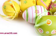 تزیین تخم مرغ رنگی برای هفت سین نوروز 97