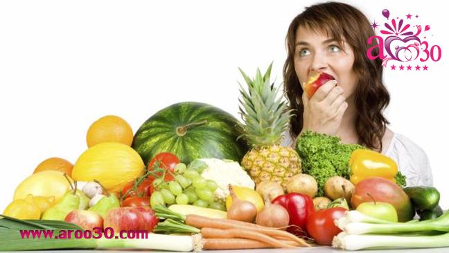 داشتن پوست شفاف با میوهها