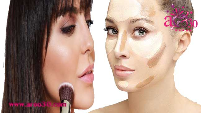 آموزش صحیح کانتور کردن صورت