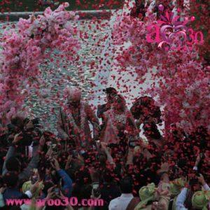 گرانترین عروسی هندی  که در آنتالیا ترکیه  برگزار شد