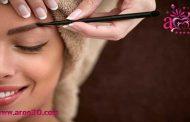رنگ کردن ابرو به روش آرایشگران حرفهای در منزل