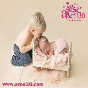 عکاسی کودک در منزل یا عکاسی کودک در آتلیه تخصصی کودک