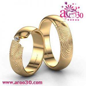 حلقه ازدواج عروس و داماد