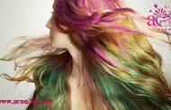 رنگ کردن مو ها در خانه