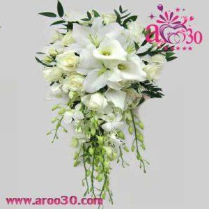 راهنمای انتخاب دسته گل عروس