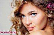 هماهنگی آرایش صورت با رنگ مو