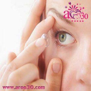 نگهداری و استفاده از لنز تماسی