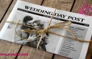 متفاوت ترین کارت عروسی این عروس و داماد